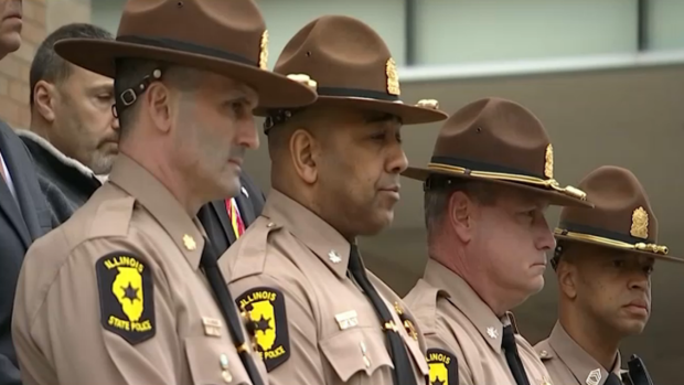 Remembering Fallen Illinois State Trooper Ellis