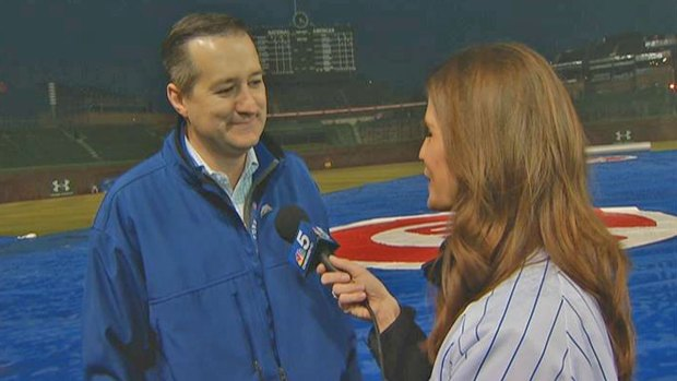 [CHI] Tom Ricketts on Home Opener, Wrigley Renovation