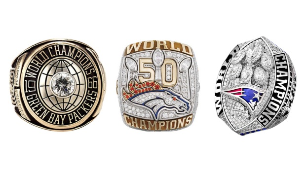 See All 53 Super Bowl Championship Rings From I to LIII