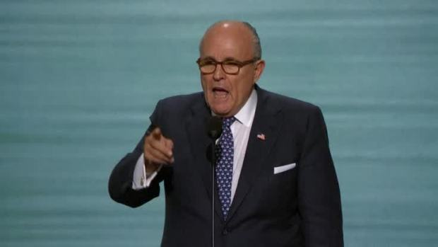 [NATL] Giuliani Revs Up Republican National Convention