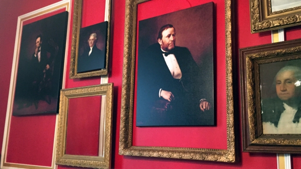 "Photos of Rep. Aaron Schock's ""Downton Abbey"" Office"