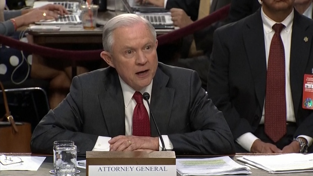 Attorney General Jeff Sessions On Capitol Hill