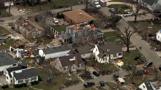 Photos: Severe Storms Tear Through Illinois