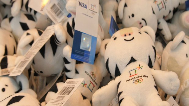 Pyeongchang Mascot Soohorang Is Everywhere