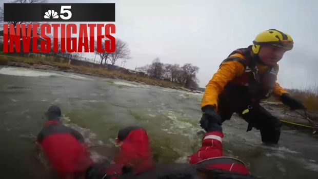 Illinois Team Specializes In Swift Water Rescues
