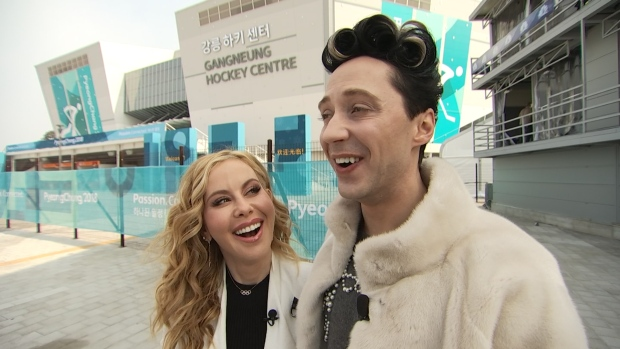 Tara Lipinski and Johnny Weir's Valentine's Day Advice