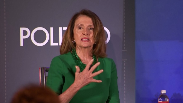 [NATL] Pelosi Weighs in on Biden Inappropriate Touching Allegations