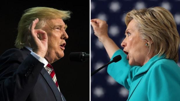 Trump, Clinton Focus on Battleground States