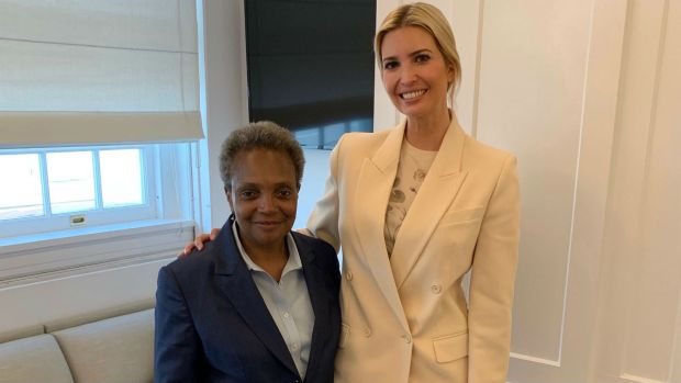[CHI] Lightfoot Meets With Ivanka Trump on Trip to DC