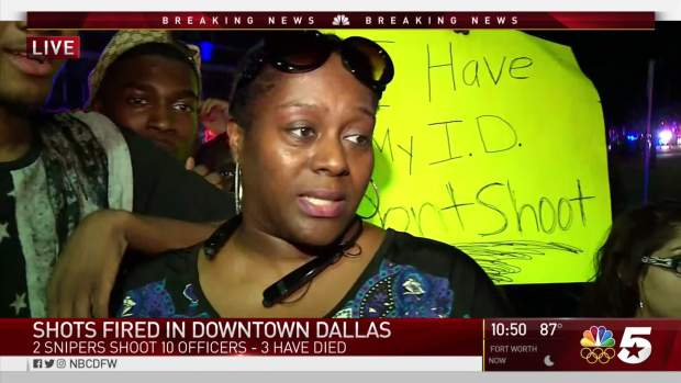 [NATL-DFW] Witnesses Talk About Scene After Shots Fired At Dallas Rally