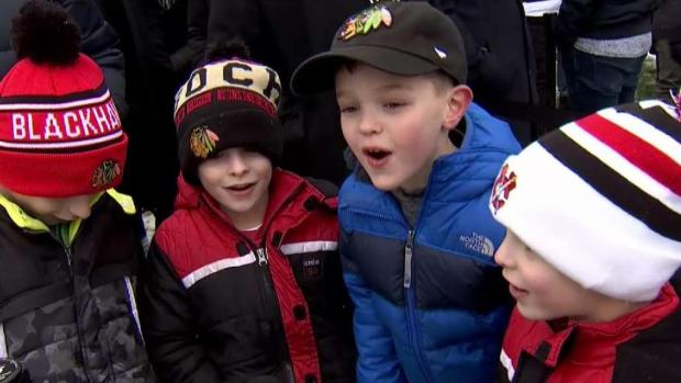 [CHI] Fans Enjoy Winter Classic Fan Fest in Millennium Park