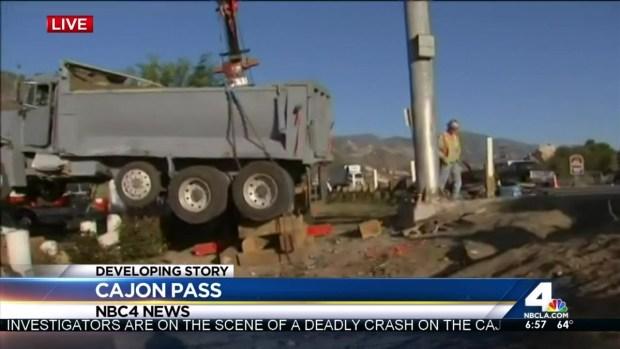[LA] Crushed PT Cruiser Removed From Scene of Fatal Crash