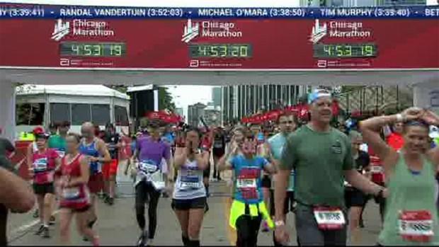 2018 Bank of America Chicago Marathon Finish: 4:50:44