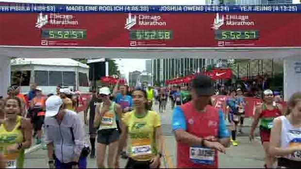 2018 Bank of America Chicago Marathon Finish: 5:52:52
