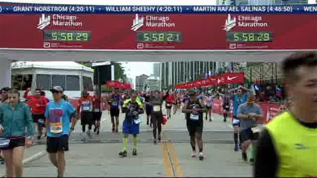 2018 Bank of America Chicago Marathon Finish: 5:57:39