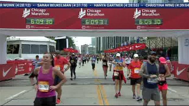 2018 Bank of America Chicago Marathon Finish: 6:08:18