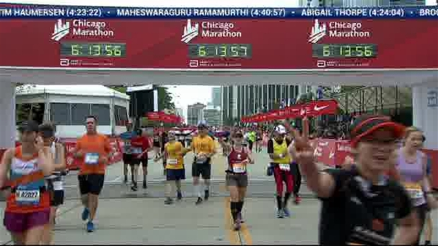2018 Bank of America Chicago Marathon Finish: 6:12:56