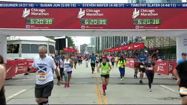 2018 Bank of America Chicago Marathon Finish: 6:17:51
