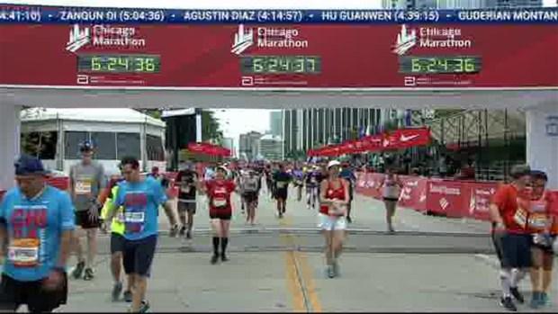 2018 Bank of America Chicago Marathon Finish: 6:23:26