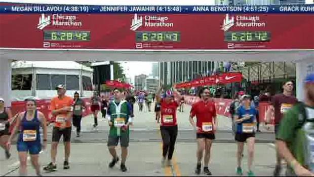 2018 Bank of America Chicago Marathon Finish: 6:28:22