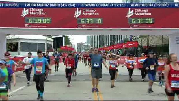 2018 Bank of America Chicago Marathon Finish: 6:38:20