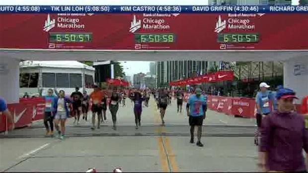 2018 Bank of America Chicago Marathon Finish: 6:48:26