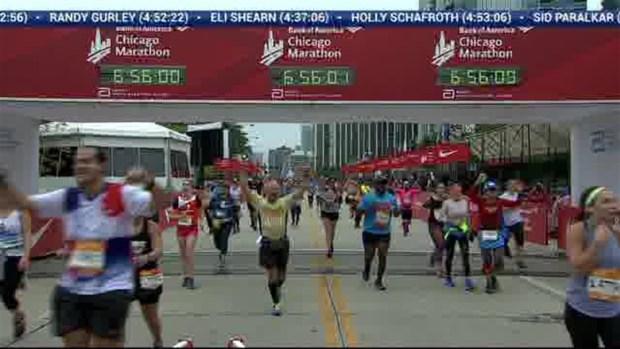2018 Bank of America Chicago Marathon Finish: 6:53:29