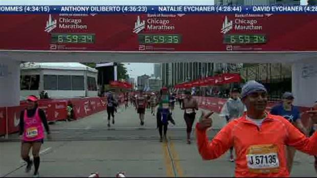 2018 Bank of America Chicago Marathon Finish: 6:58:32