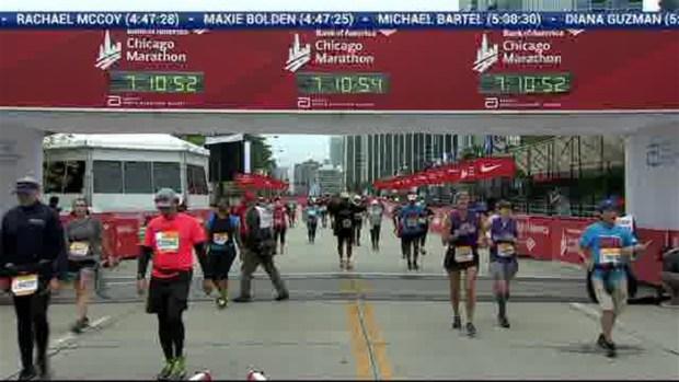 2018 Bank of America Chicago Marathon Finish: 7:10:40