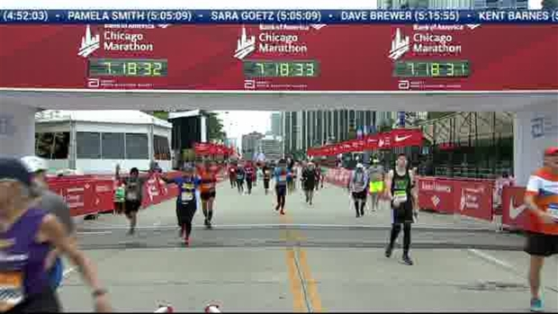 2018 Bank of America Chicago Marathon Finish: 7:16:01