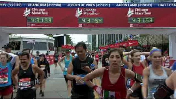 2018 Bank of America Chicago Marathon Finish: 4:29:02