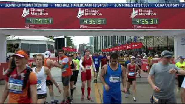 2018 Bank of America Chicago Marathon Finish: 4:34:46