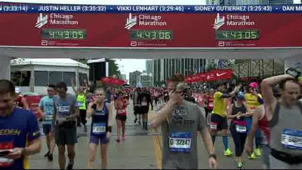 2018 Bank of America Chicago Marathon Finish: 4:40:38
