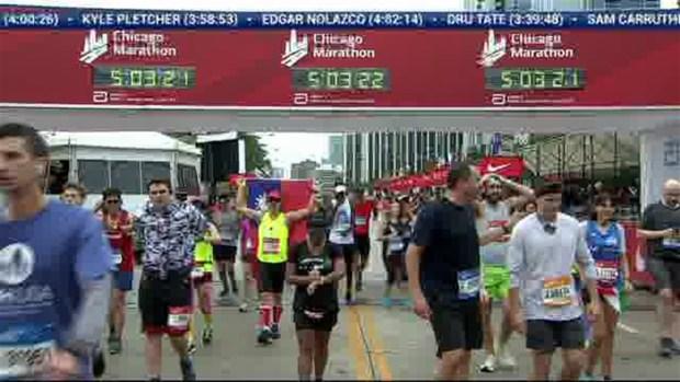 2018 Bank of America Chicago Marathon Finish: 5:00:59