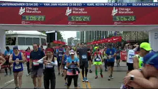 2018 Bank of America Chicago Marathon Finish: 5:05:46