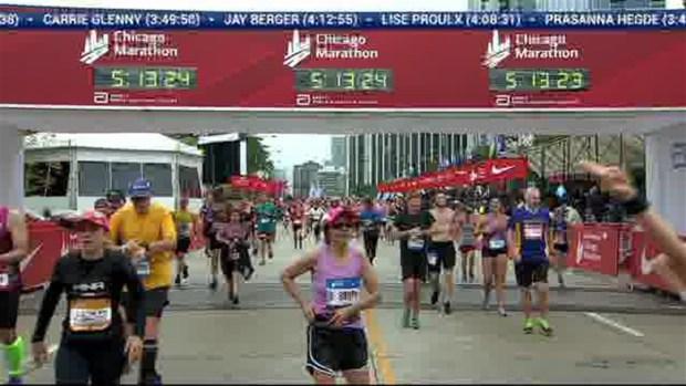 2018 Bank of America Chicago Marathon Finish: 5:10:41