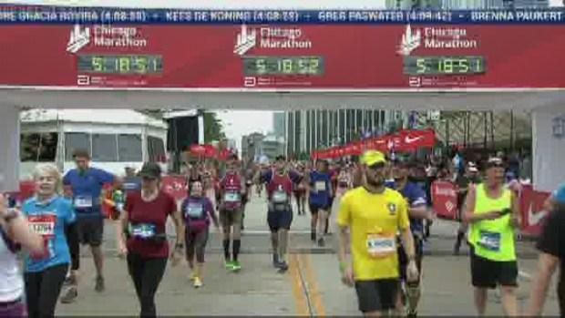 2018 Bank of America Chicago Marathon Finish: 5:16:07