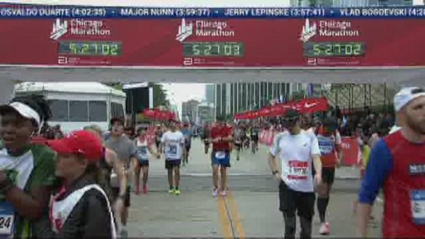 2018 Bank of America Chicago Marathon Finish: 5:26:31