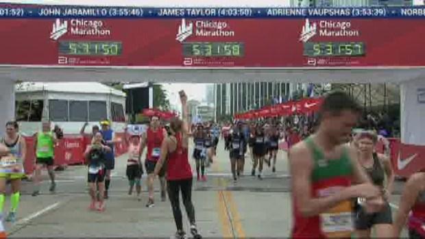 2018 Bank of America Chicago Marathon Finish: 5:31:50