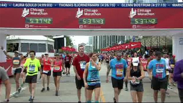 2018 Bank of America Chicago Marathon Finish: 5:37:26