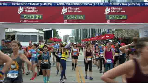 2018 Bank of America Chicago Marathon Finish: 5:42:28