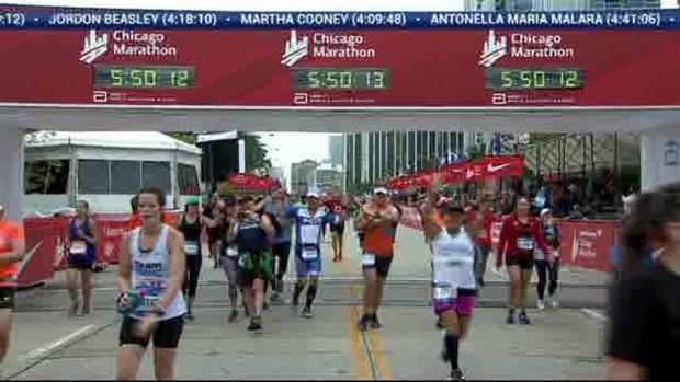 2018 Bank of America Chicago Marathon Finish: 5:47:41