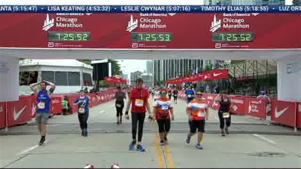 2018 Bank of America Chicago Marathon Finish: 7:25:59