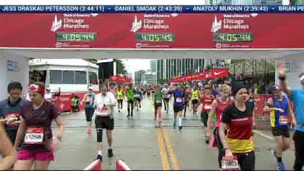 Bank of America Chicago Marathon Finish: 4:02:56