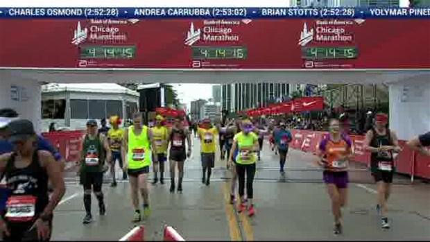 2018 Bank of America Chicago Marathon Finish: 4:13:44