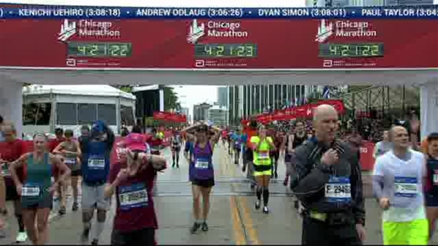2018 Bank of America Chicago Marathon Finish: 4:19:04