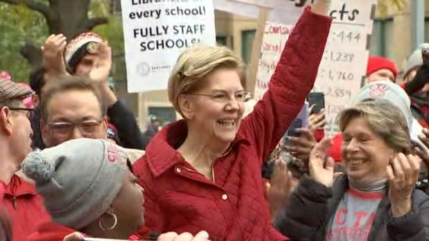 [CHI] Elizabeth Warren Joins Striking Chicago Teachers