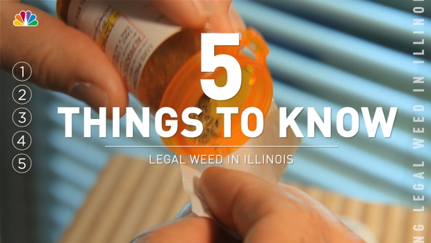 [CHI] 5 Things to Know About Legalizing Weed in Illinois