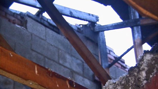 [CHI] Lightning Heavily Damages Woodridge Condo