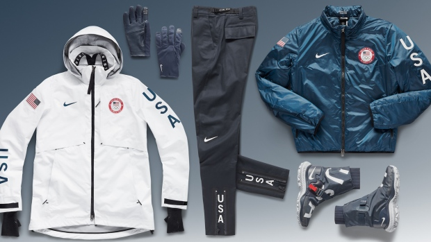 [NATL] Here's What Team USA Will Be Wearing on the Podium in Pyeongchang